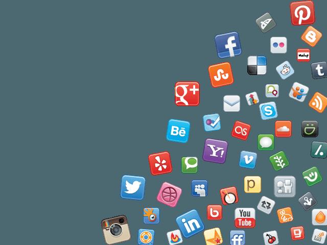CRM System social-media