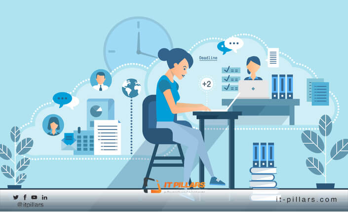 IT Pillars - ما هي افضل 9 طرق ل العمل من المنزل مع الحفاظ على زيادة معدلات الإنتاج؟